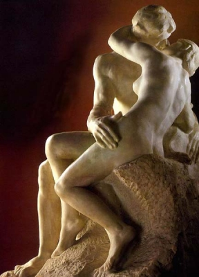 "The ultimate purpose of sex is to cement a loving and productive bond between two persons - ""The Kiss"" by Auguste Rodin 1886"